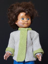 Dolls vintage objects toys portrait Royalty Free Stock Images