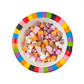 Dolly mixture Royalty Free Stock Photography