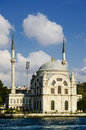 Dolmabahce mosque Royalty Free Stock Photos