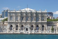 Dolmabahce Palace in Istanbul, Turkey Royalty Free Stock Photo