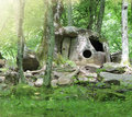 Dolmen near Gelendjik Royalty Free Stock Photo