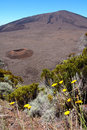 Dolomieu crater, Reunion island Royalty Free Stock Photos