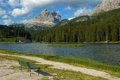 In the dolomite alps italy europe Royalty Free Stock Images