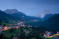Dolomites of belluno italy val fiorentina and mount pelmo Stock Photos