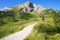 Dolomites, italian alps Royalty Free Stock Photo