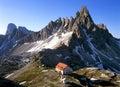 Dolomites landscape Royalty Free Stock Images