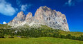 Dolomites mountain Stock Photo