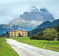 Dolomites mountain summer view Stock Photography