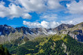 Dolomites view from forcella dal pief in the mountains of northern italy Royalty Free Stock Image