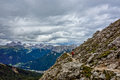 Dolomites walking catinaccio group in the mountains of northern italy Stock Photo
