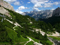 Dolomiti Mountains Royalty Free Stock Photography