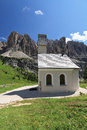 Dolomiti - small church Stock Photography
