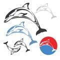 Delfín skok
