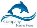 Dolphin Ocean Logo