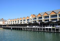 Dolphin quay an image of at the mandurah ocean marine located in western australia Royalty Free Stock Image