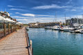 Dolphin Quay Royalty Free Stock Photo