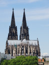 Dom cathedral in cologne germany colgne is famous for its which can be seen from all over the city Royalty Free Stock Images