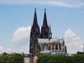 Dom cathedral in cologne germany colgne is famous for its which can be seen from all over the city Royalty Free Stock Photos