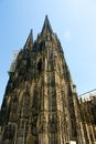 Dom of koln the in germany Royalty Free Stock Images