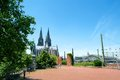 Dom of koln the in germany Stock Photo