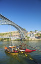 Dom luis bridge porto portugal in Royalty Free Stock Images
