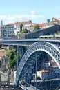 Dom Luis I Bridge in Porto Royalty Free Stock Photography
