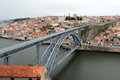 Dom Luis I Bridge, Porto, Portugal Stock Image