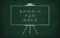 Domain for sale Royalty Free Stock Photo