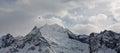 Dombai Mountains Stock Image