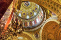 Dome Basilica Arch Saint Stephens Cathedral Budapest Hungary Royalty Free Stock Photo