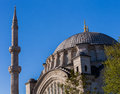 Dome of the Blue Mosque Royalty Free Stock Image