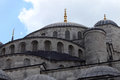 Dome of blue mosque Royalty Free Stock Photo