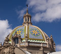 Dome by California Tower in Balboa Park Royalty Free Stock Photo