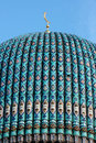 Dome cathedral mosque.  St.-Petersburg. Royalty Free Stock Photos