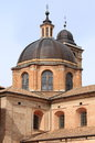Dome of the cathedral of urbino italy Stock Photos