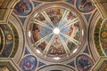 The dome of the Church of Stella Maris Carmelite Monastery Royalty Free Stock Photo