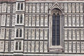Dome Florence Facade Detail Royalty Free Stock Photo