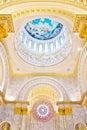 Dome  Interior a Catholic Church Royalty Free Stock Photos