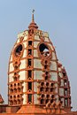 Dome of iskcon temple new delhi international society for krishna consciousness india Stock Photos