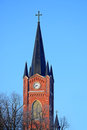 Dome of  Lutheran Church, Loviisa, Finland Royalty Free Stock Photos