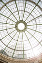 Dome Made by Steel Structure with Glass at Dubai Royalty Free Stock Photo