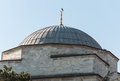 Dome of a mosque on blue sky background Stock Photography