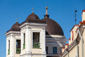 Dome of nicholas orthodox church tallinn st estonia Royalty Free Stock Images