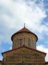 Dome of orthodox monastery Gelati Stock Photos