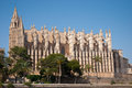 Dome of Palma de Mallorca, Spain Royalty Free Stock Image