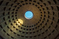 Dome of the Pantheon, Rome, Italy Royalty Free Stock Photo