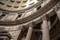 Dome of the Pantheon  in Rome Royalty Free Stock Photo