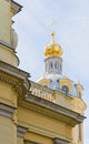 Dome of the Peter and Paul Cathedral Royalty Free Stock Photo