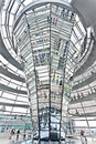Dome Reichstag  berlin germany Stock Image