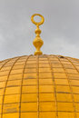 Dome of the Rock detail Royalty Free Stock Photo